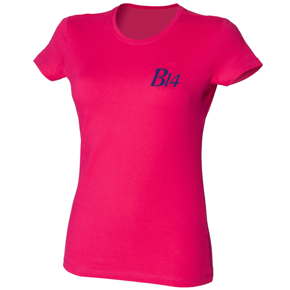 B14 Ladies' Fitted T-Shirt